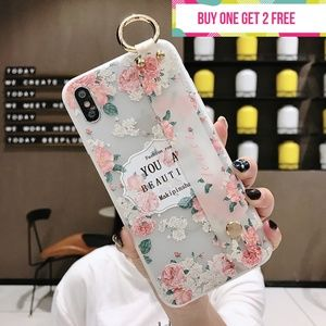 Accessories - You Are Beautiful Phone Case with Wrist Strap
